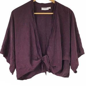 CHRISTIAN DIOR | Vintage Silk Cardigan